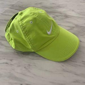 Nike Neon Green Hat